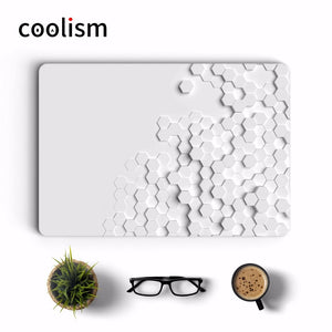 White 3D Diamonds Laptop Full Cover Skin