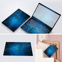 Load image into Gallery viewer, 3 Sides Laptop Skin Notebook Stickers For Xiaomi Lenovo Dell Asus HP 14 15.6 inch Computer Decal Laptop Sticker Protector Case