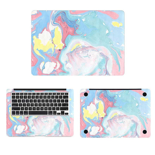 Abstract Mixed Oil Painting Laptop Sticker for MacbookSkin