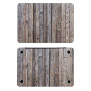 Old Wood Texture Laptop Full Cover Skin
