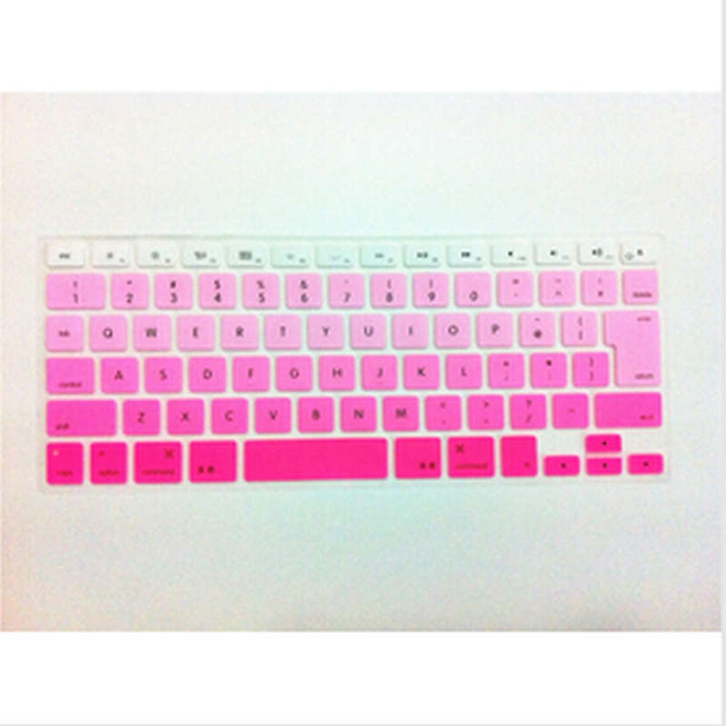 Rainbow JP keyboard Color English KeyboardX15 Cover Skin