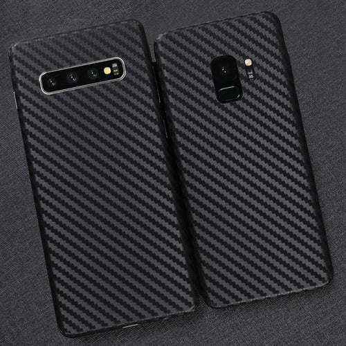 3D Carbon Fiber Skins Film Wrap Skin Phone Back Paste Film Sticker For SAMSUNG Galaxy S10 Plus S10e S9+ S8 S7 Edge Note 9 8 5