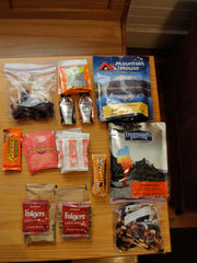 Food for climbers snacks