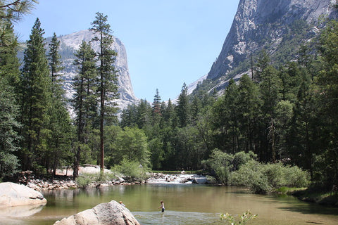Yosemite Valley in California