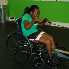 Shanae rowing CrossFit