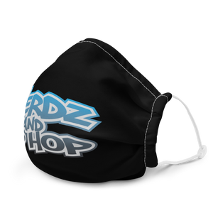 Nerdz & Hip Hop Face Mask Blue