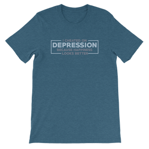Anti depression Short-Sleeve Unisex T-Shirt