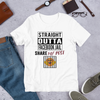 Straight Outta Facebook Jail Short-Sleeve Unisex T-Shirt