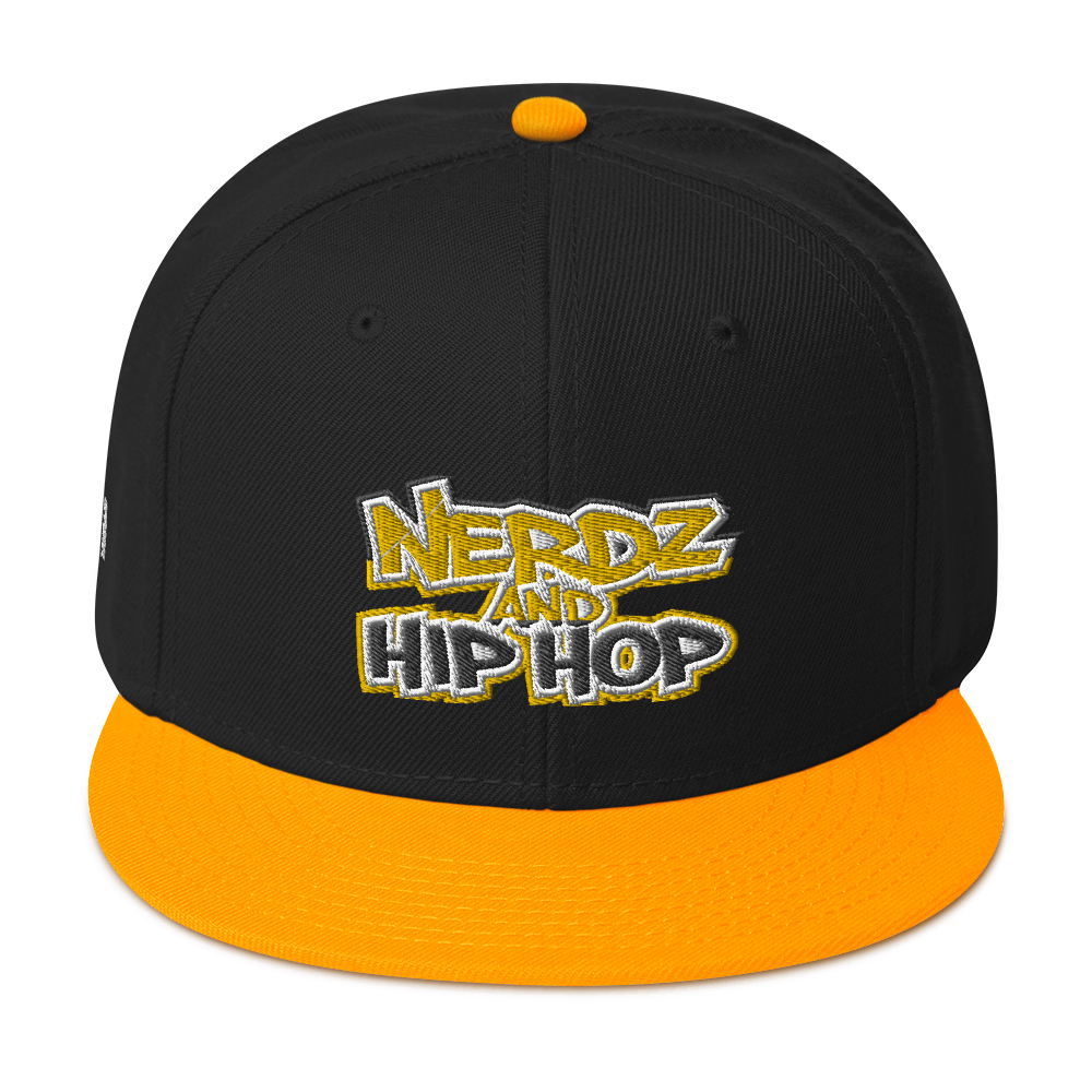 Nerdz & HipHop Snapback Hat