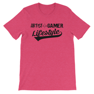 Artist + Gamer 2 Short-Sleeve Unisex T-Shirt
