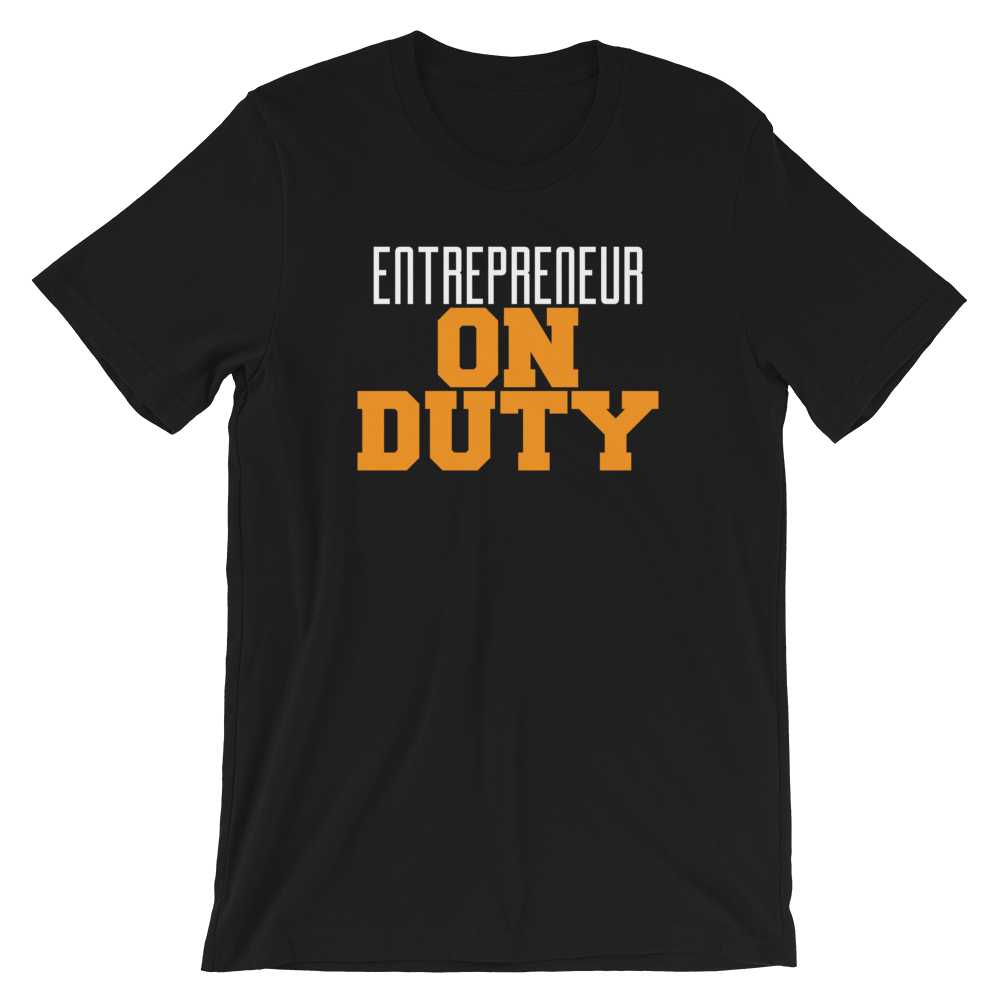 Entrepreneur Short-Sleeve Unisex T-Shirt