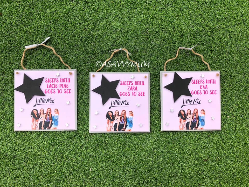 Countdown Plaques