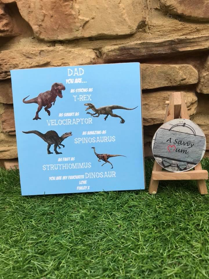 Strong as a Dinosaur Freestanding Plaque