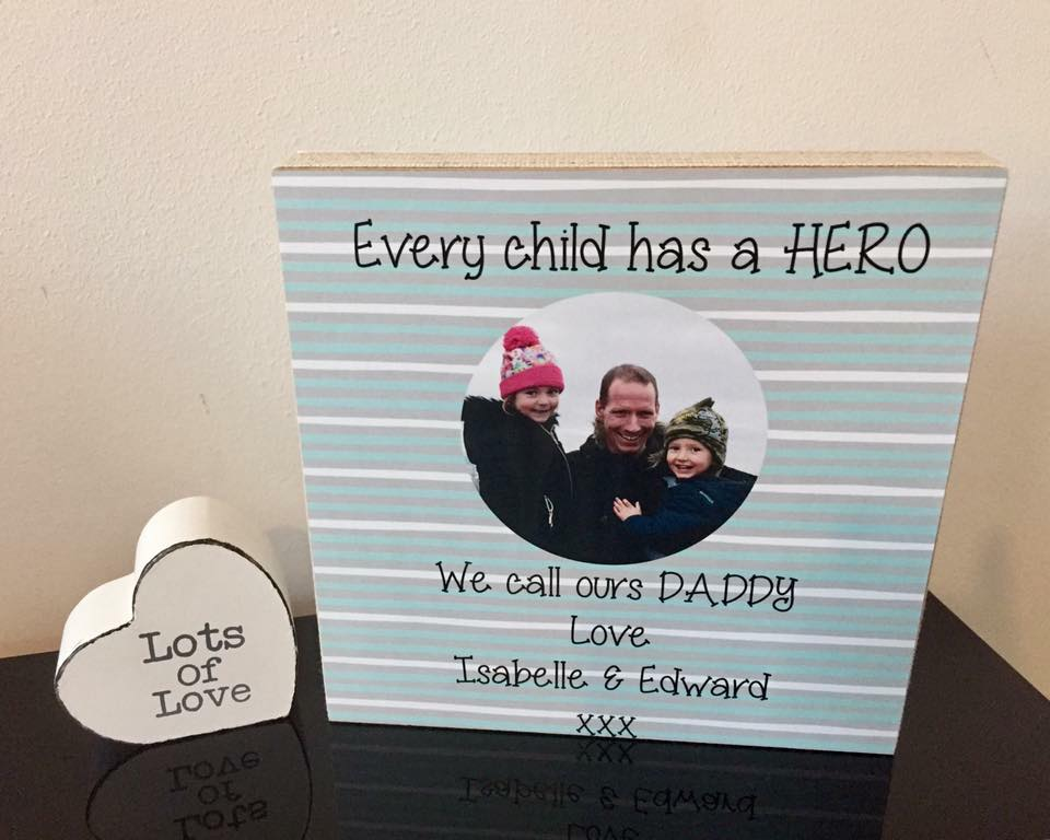 Every Child Has A Hero Freestanding Plaque