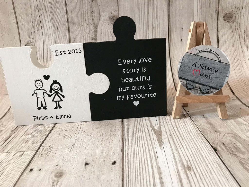 Jigsaw Puzzle Love Story
