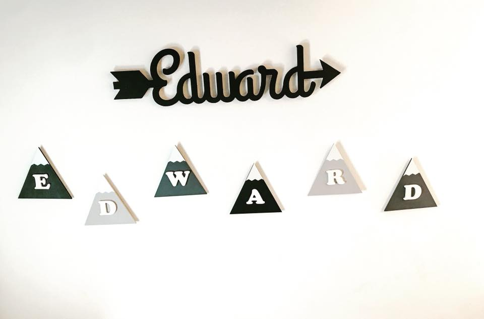 Personalised Mountain Bunting
