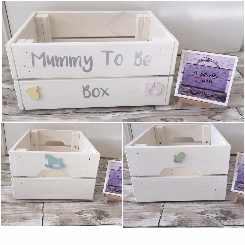 Mummy to Be Crate