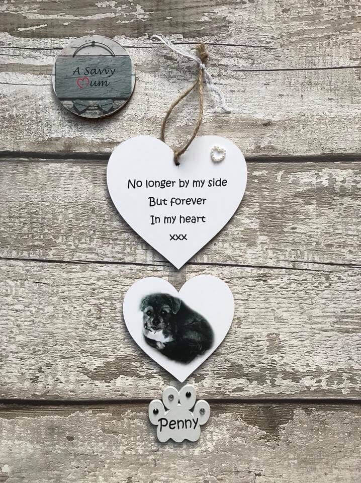 Pet Hanging Hearts