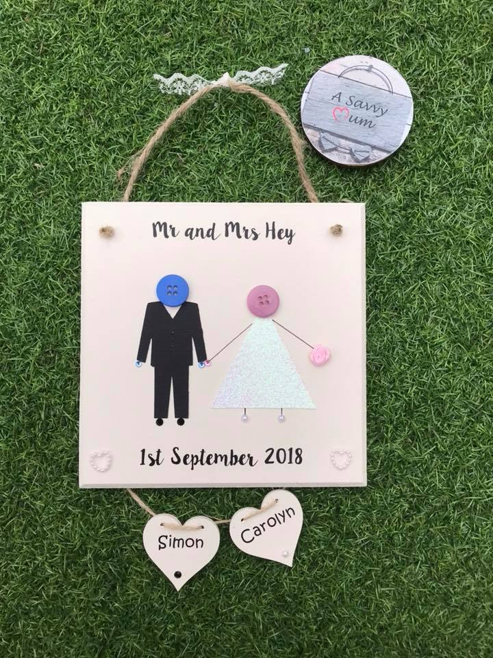 Wedding Button Family