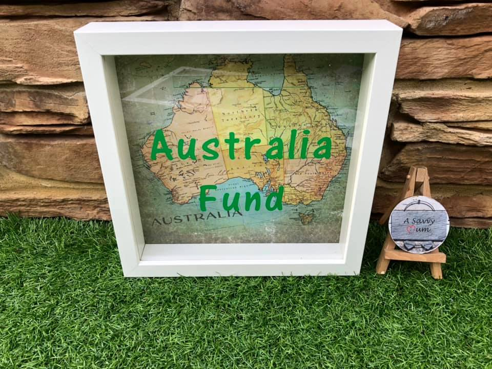 Australia Fund Moneybox Frame