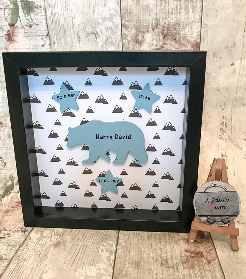 Personalised Bear Frame