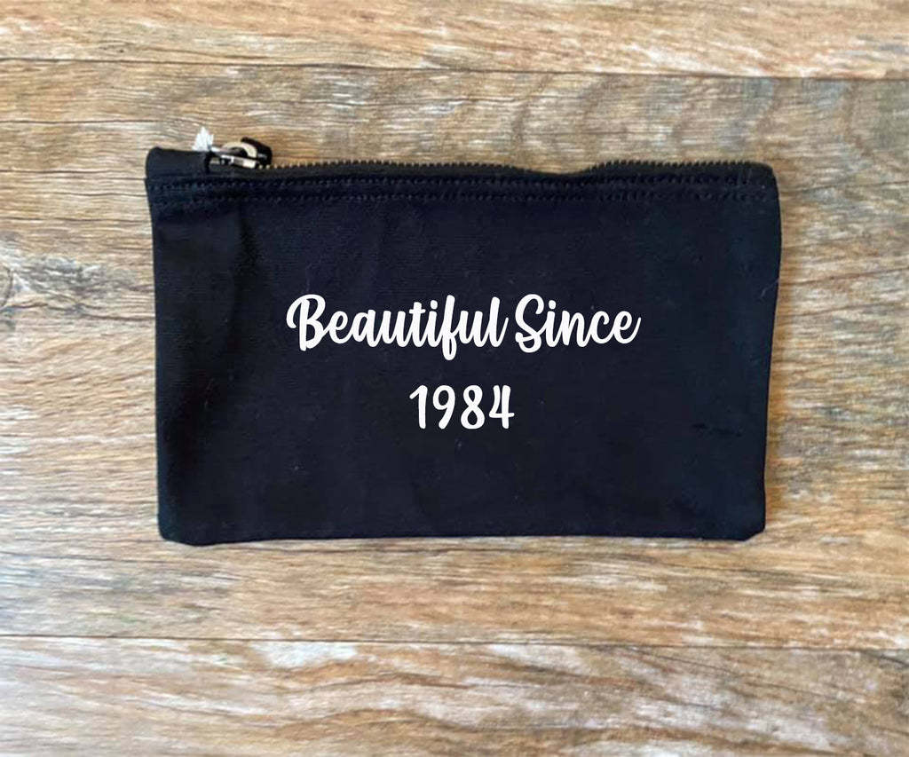 Beautiful Since Make Up Bag