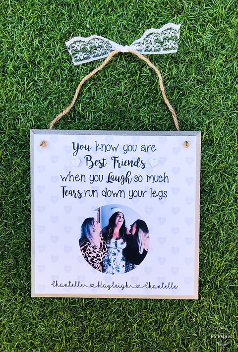 Funny Best Friend Plaque