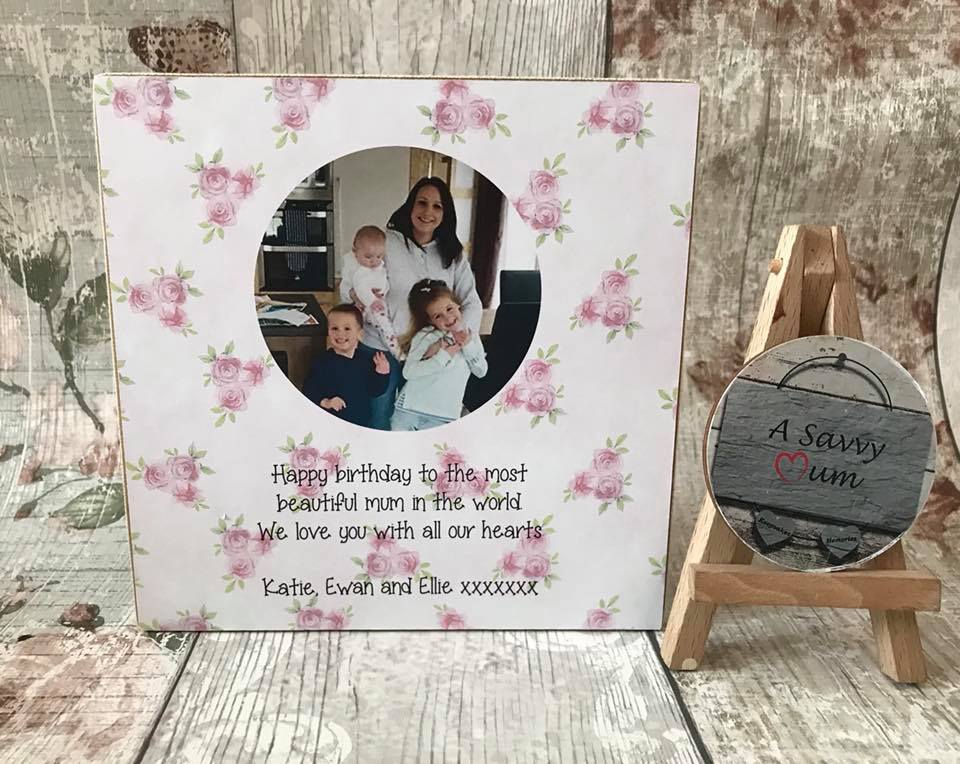 Design Your Own Plaque (Hanging and Freestanding)
