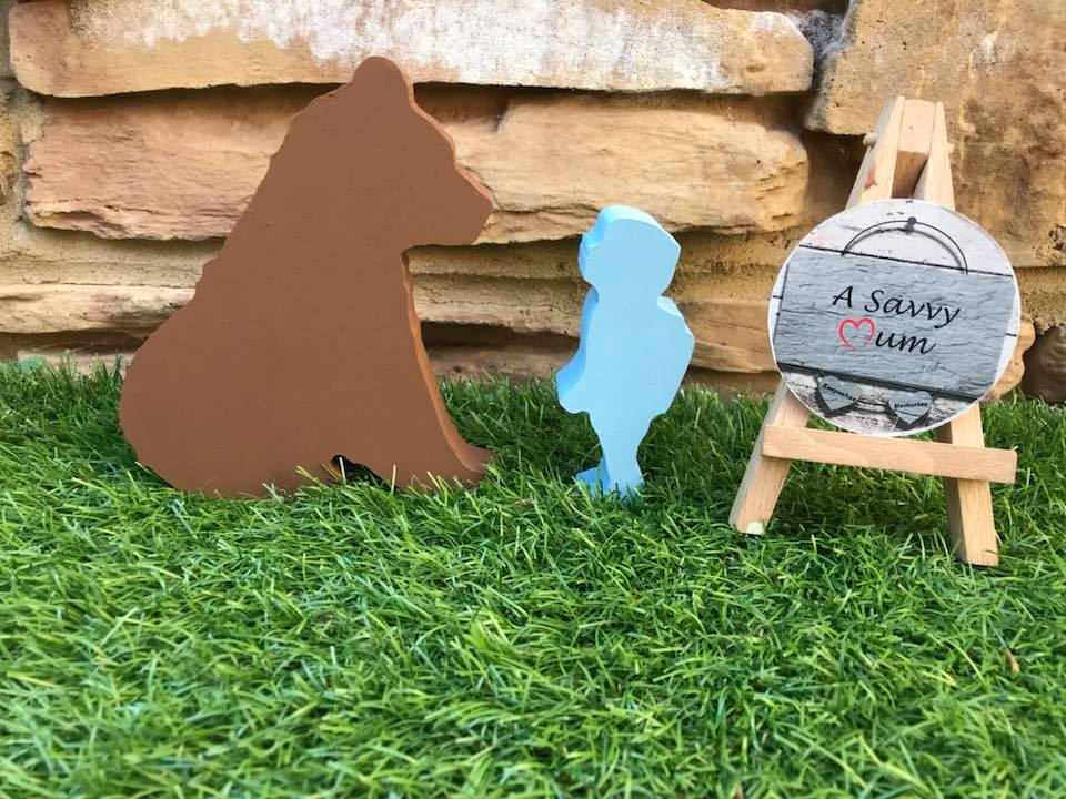 Boy or Girl and Bear Set