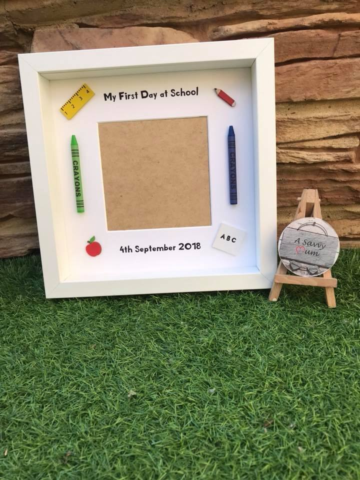 First Day at School/Nursery Frame