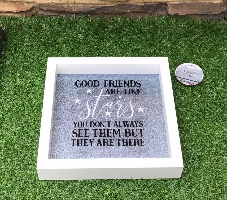 Good Friends Are Like Stars Frame