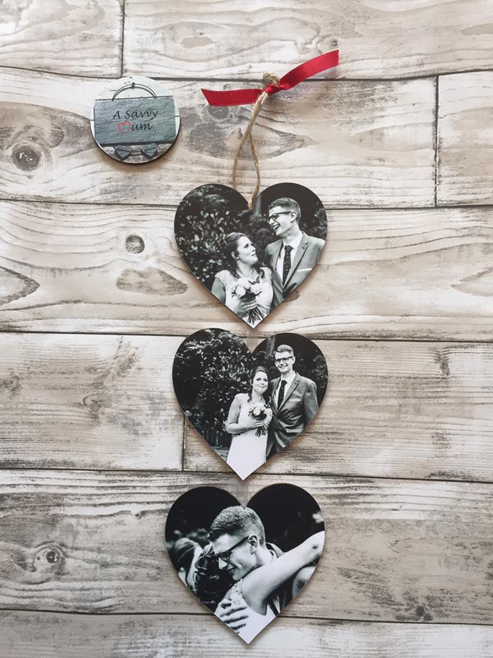 Hanging Heart Photo Set