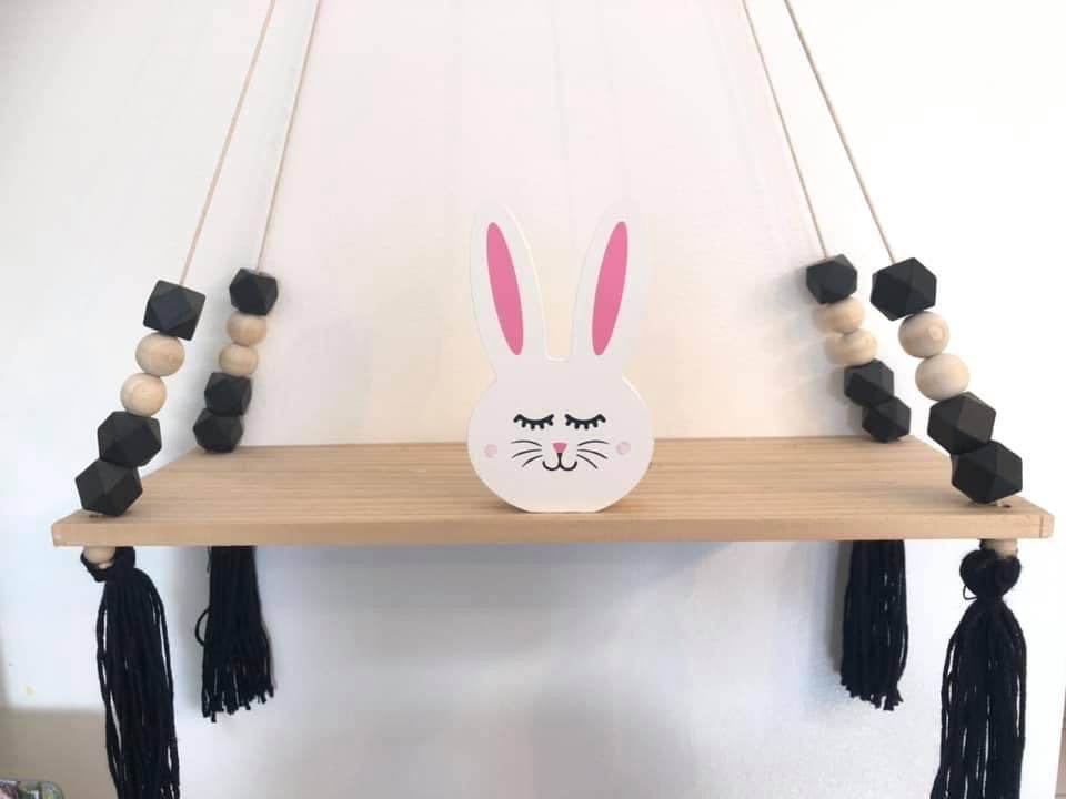 Bunny Head Shelfie