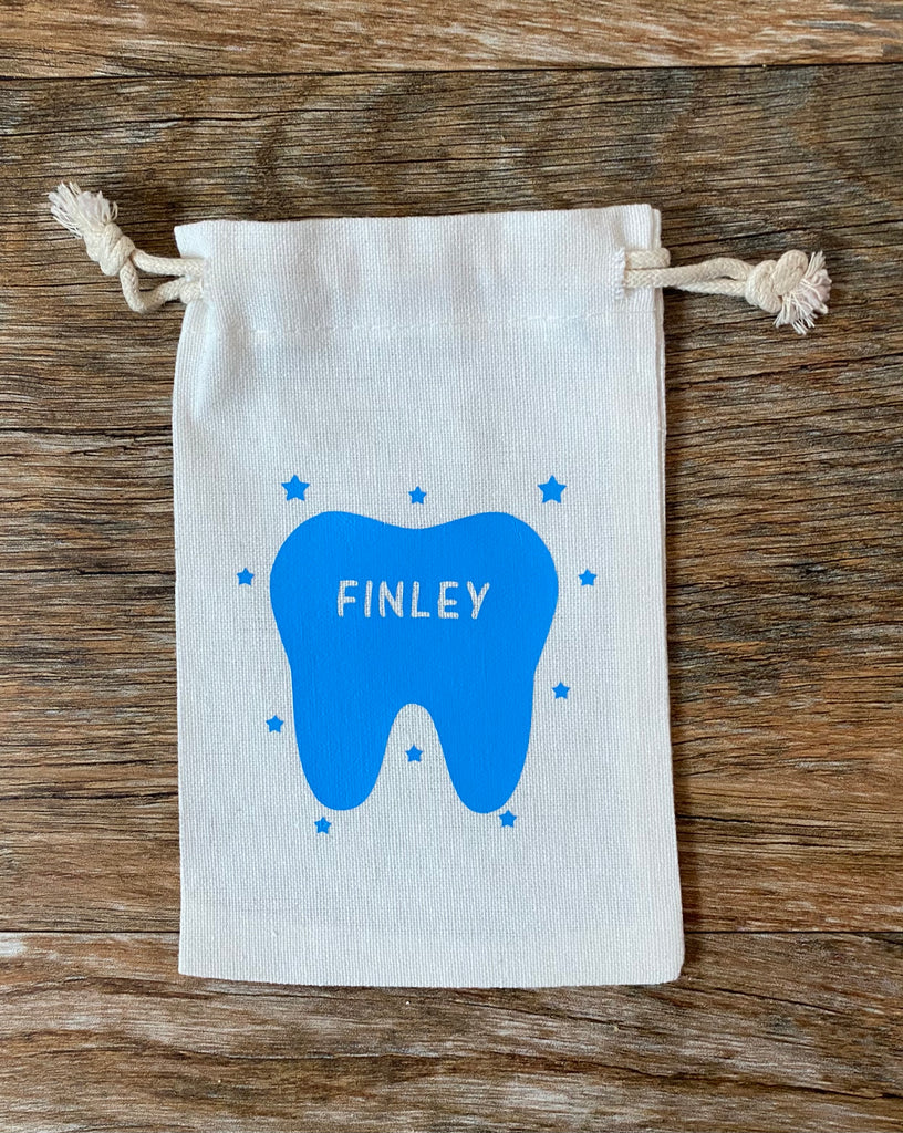Tooth Fairy Drawstring Bag
