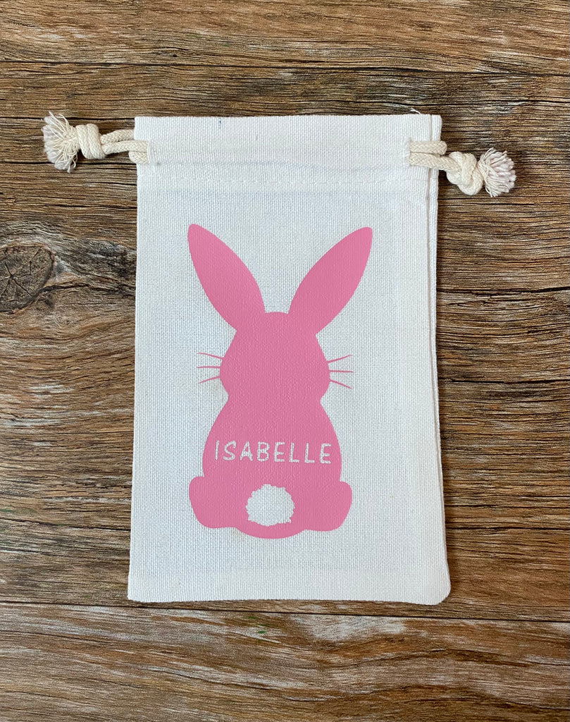 Mini Easter Bunny Drawstring Bag