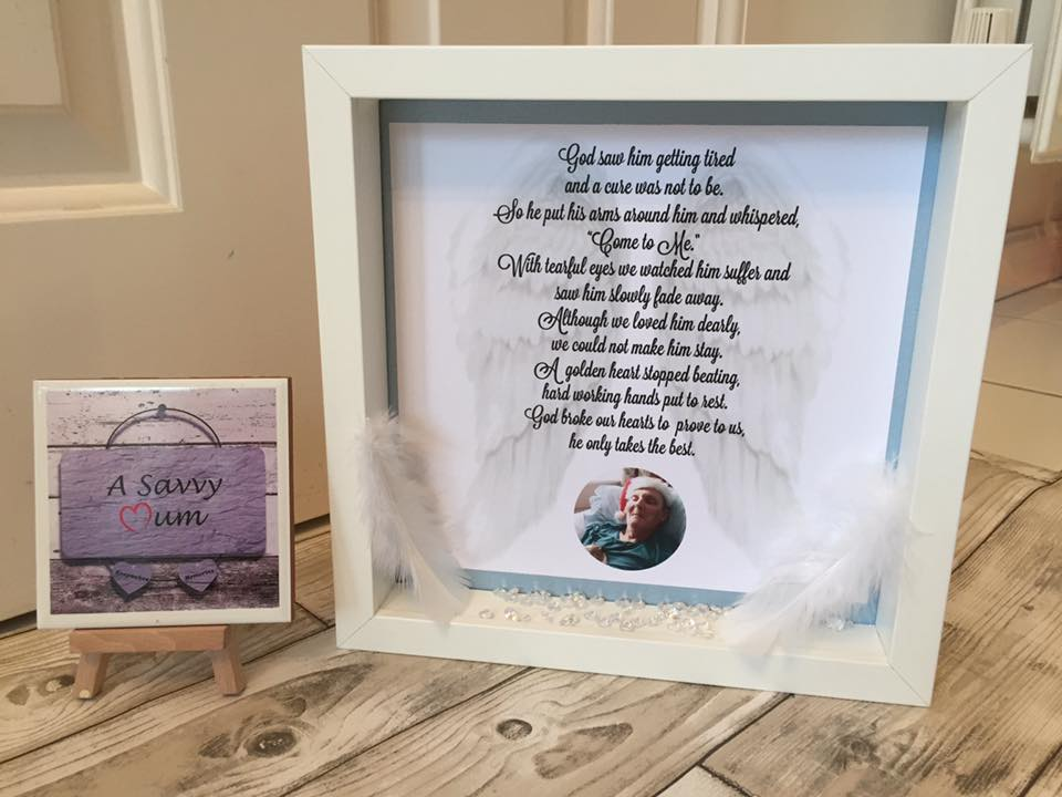 Lost Loved One Remembrance Frame