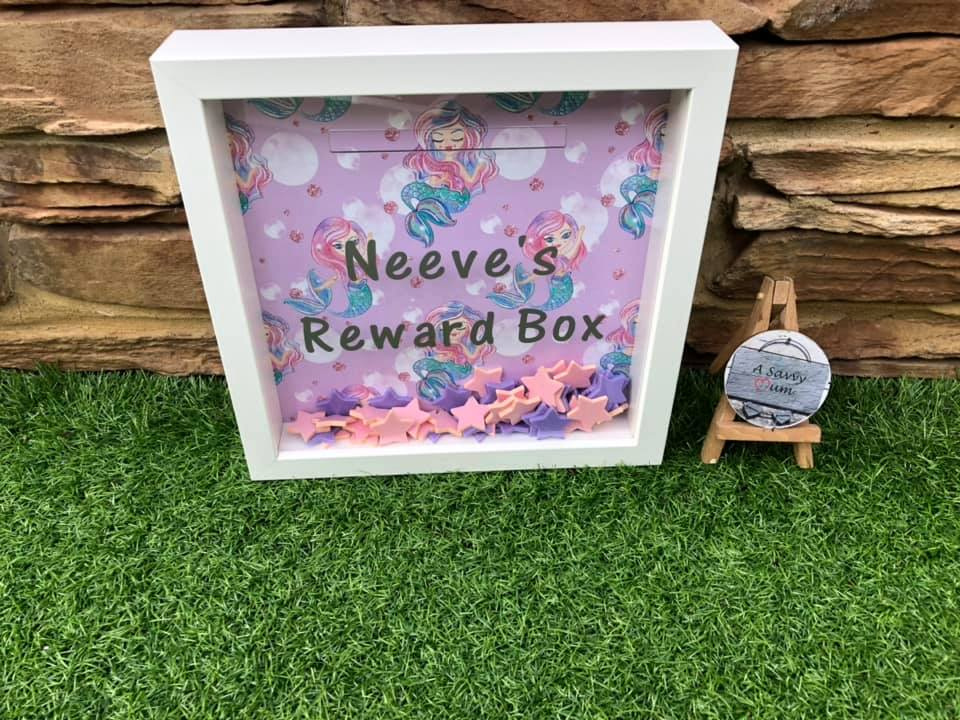 Mermaid Reward Box Frame