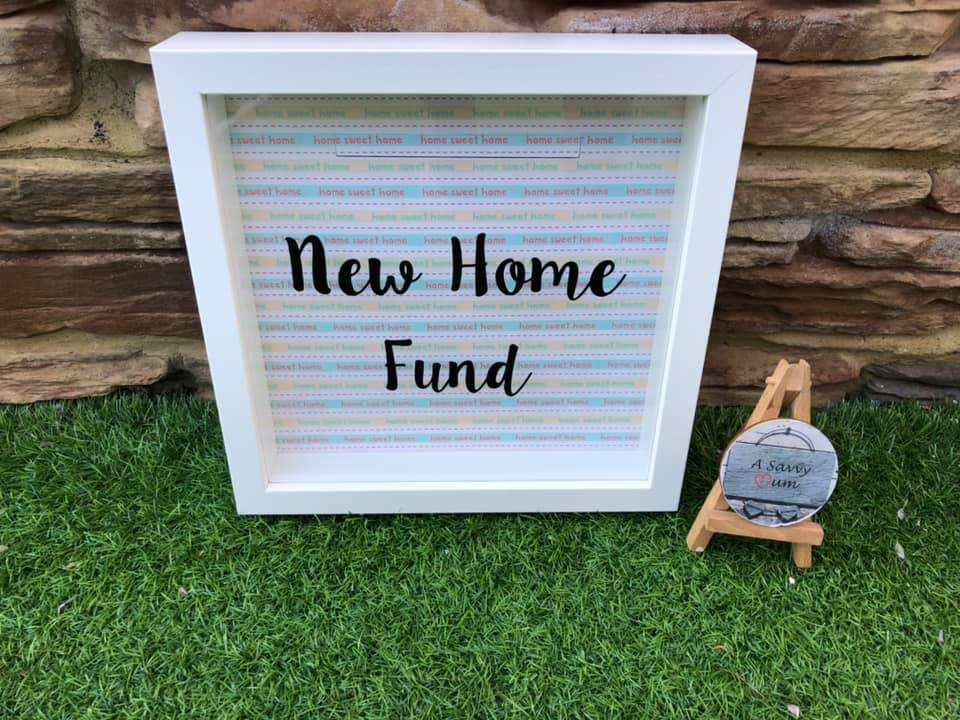 New Home Fund Moneybox Frame