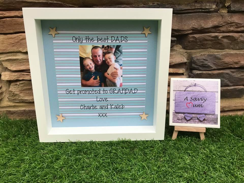 Only The Best Dads Get Promoted to Grandad Frame
