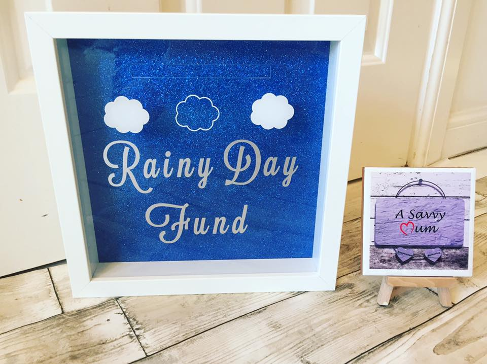Rainy Day Fund Moneybox Frame