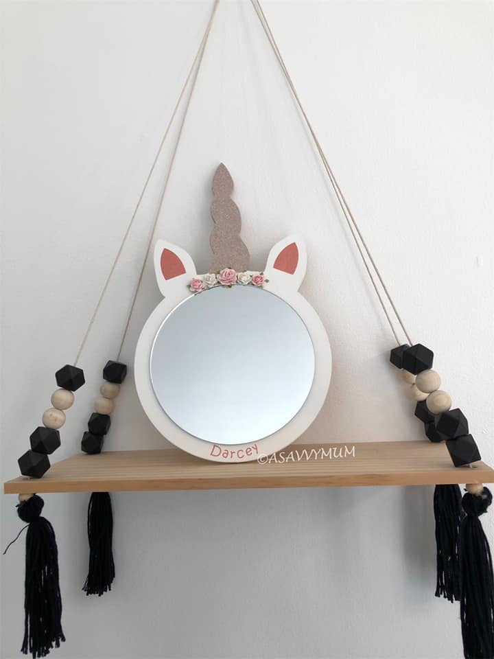 Unicorn Mirror