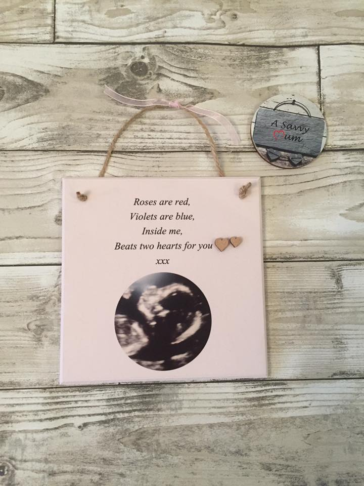 Baby Scan Plaque