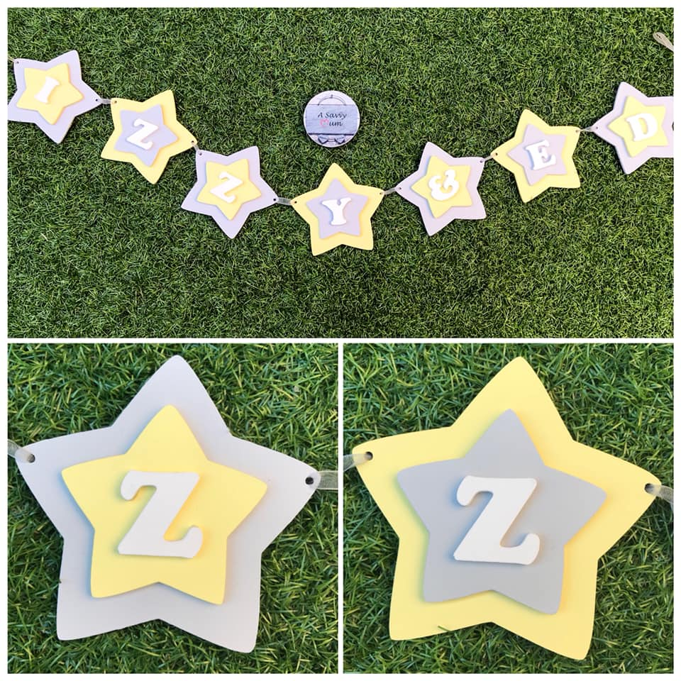 Personalised Star Bunting