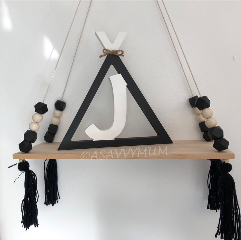Teepee Initial Letter