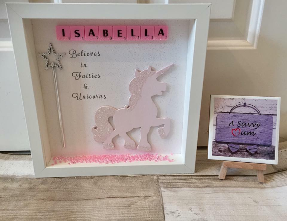 I Believe In Fairies and Unicorns Frame