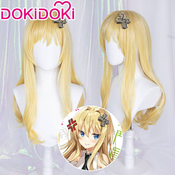 【Ready For Ship】DokiDoki Anime Combatants Will Be Dispatched! Cosplay Alice Chan Wig