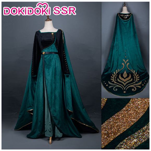 PRESALE DokiDoki-SSR Frozen 2  Anna Dress Queen Dress
