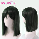 DokiDoki-R Movie Spirited Away Haku Nigihayami Kohakunushi Cosplay Costume Men Halloween Cosplay Wig White & Blue  Haku Costume
