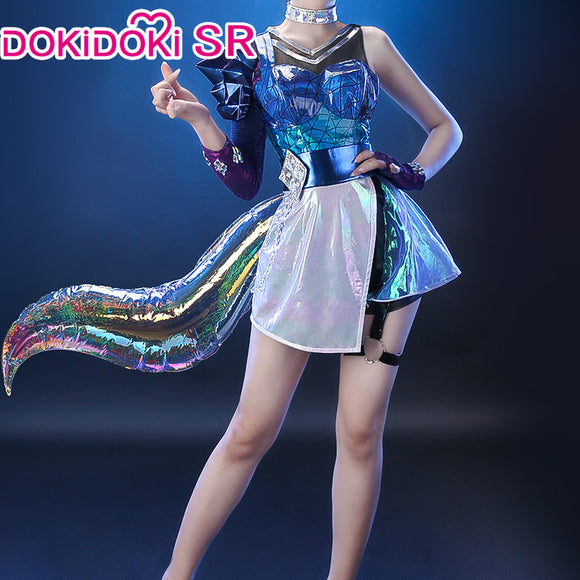 【Ready For Ship】DokiDoki-SR Game league of Legends Cosplay KDA All Out Ahri