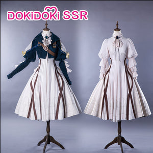 DokiDoki-SSR Anime Violet Evergarden Cosplay Costume Women Dress Costume